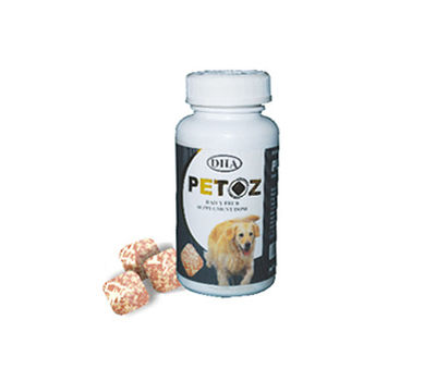 DHA Petoz Mega TestiTab Dog Supplement, 50 tablets