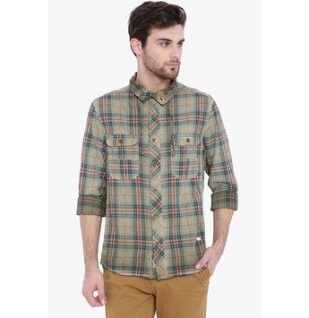 Breakbounce Angus Men's Casual Slim Fit Shirt, regular, m,  grey