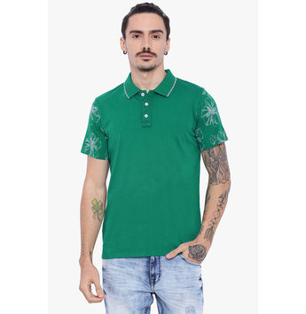 Breakbounce Glenn Regular Fit Polo,  cadmium green, xl