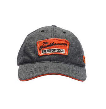 Breakbounce Sotho Men's Cap,  anthra melange grey, 56/58