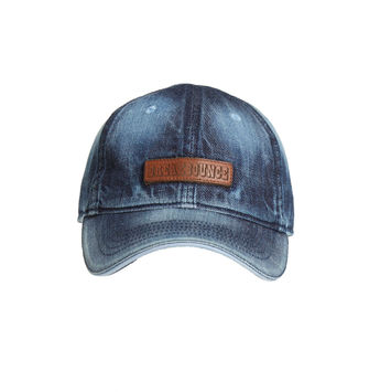 Breakbounce Bolt Denim Men's Cap,  denim blue, 56/58