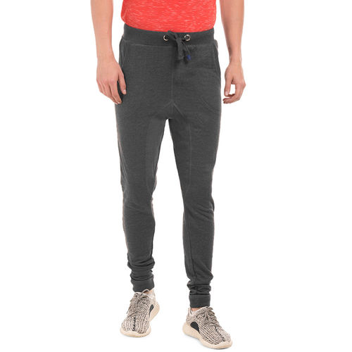 Barrett LN Anthra Melange Regular Fit Solid Jogger,  grey, 34
