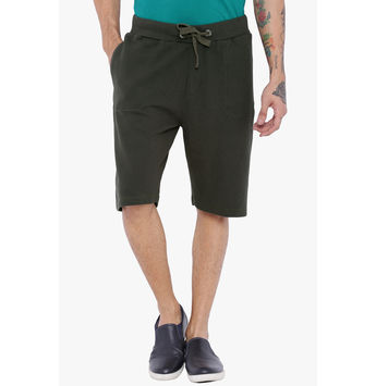 Breakbounce Emmett Knitted Tapered Fit Shorts,  deep grey, 32