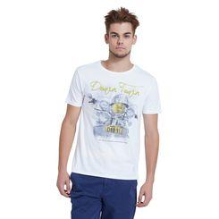 Breakbounce Erol Regular Fit T-Shirt,  opaque white, m