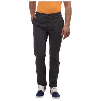 Breakbounce Bendera Slim Fit Printed Trousers,  grey, 34