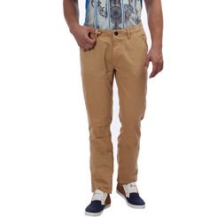 Breakbounce Hayter Regular Fit Solid Trousers,  crust brown, 34