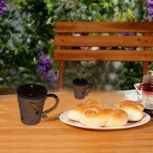 Matte Finish Coffee Mug - Cone Shape - Set of 2, regular