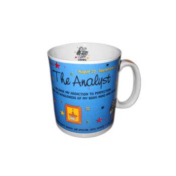 Zodiac Sign Ceramic Coffee Mug - Virgo, regular