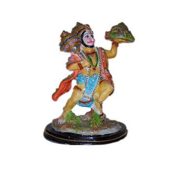 Sanjivani Pahad Hanuman Idol, regular