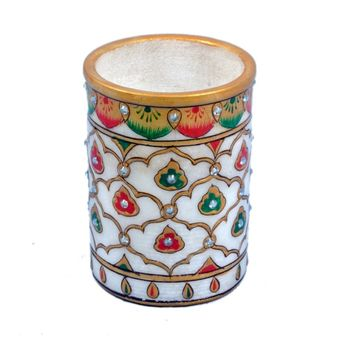 Beautiful Design Marble Pen Stand