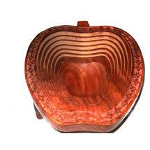 Apple shaped Wooden Spring Basket, regular