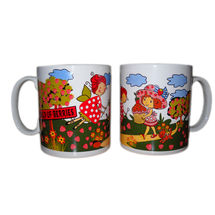 Berries Garden Milk and Coffee Mugs - Cute girls, regular