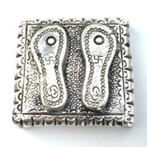 White Metal Charan Paduka, regular