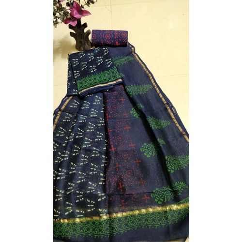 Chanderi Silk Salwar Suit-6