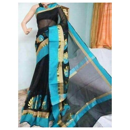 Banarsi Cotton Silk Saree 6