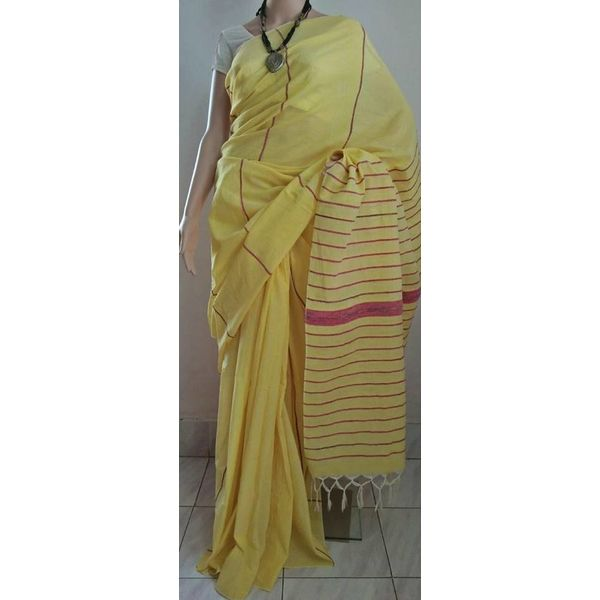 Pure Cotton Khes Saree 10