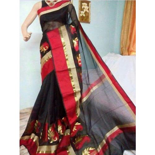 Banarsi Cotton Silk Saree 5