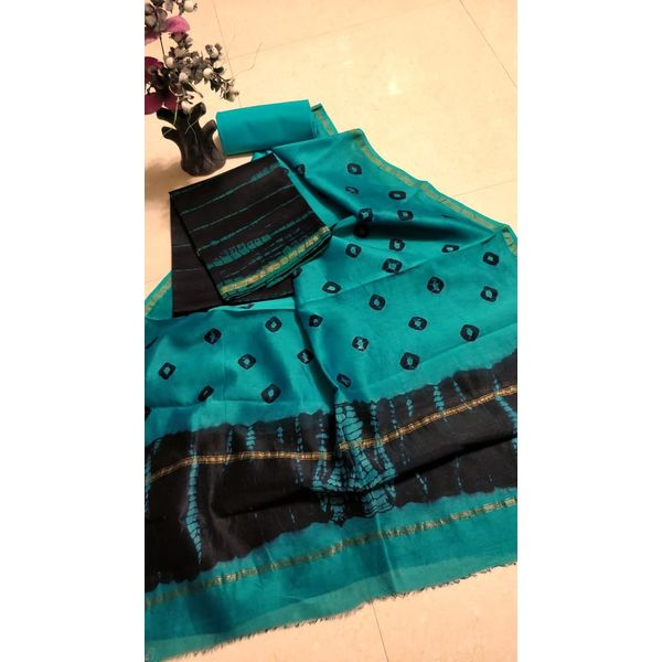 Chanderi Silk Salwar Suit-9