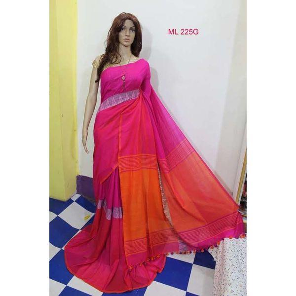 Madhyamoni Khadi Cotton Sarees Directly from Weavers 13