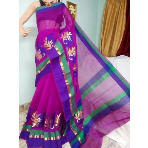 Banarsi Cotton Silk Saree 3
