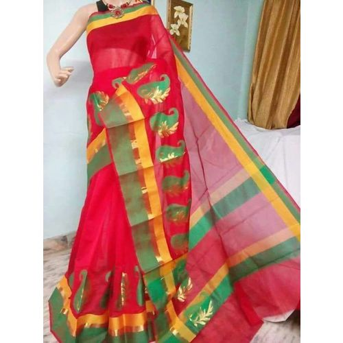 Banarsi Cotton Silk Saree 7