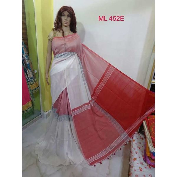Madhyamoni Khadi Cotton Sarees Directly from Weavers 15