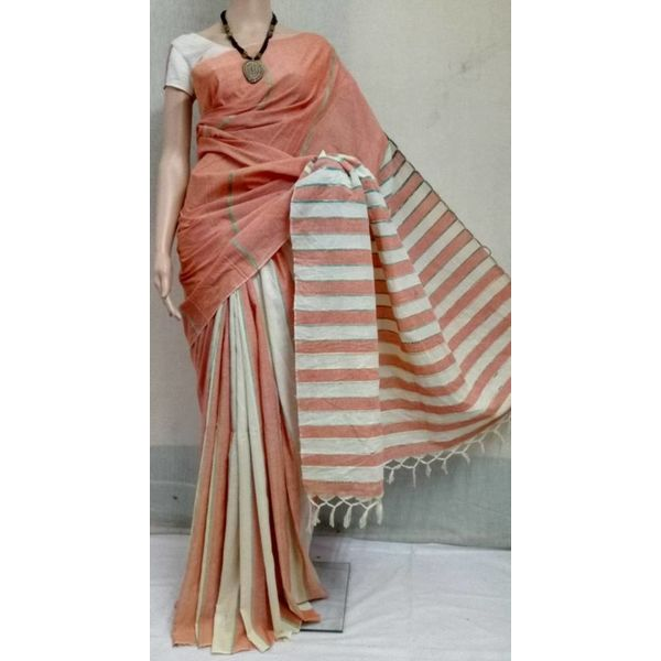 Pure Cotton Khes Saree 8