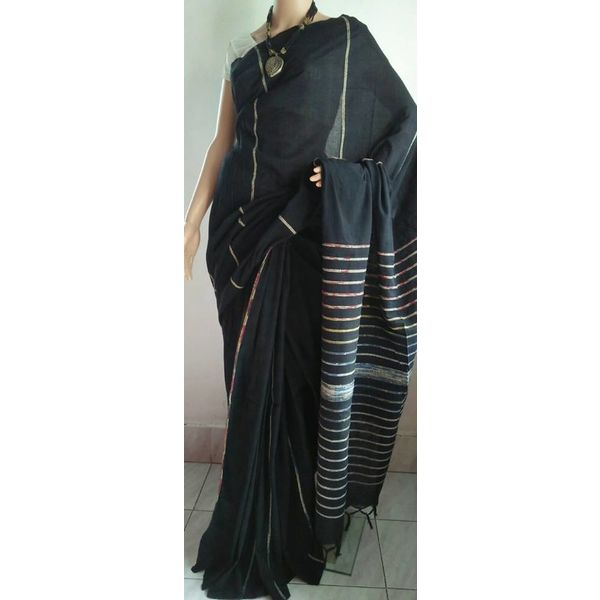 Pure Cotton Khes Saree 12
