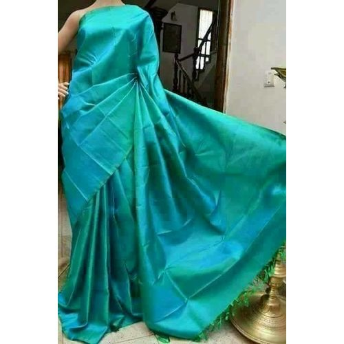 Bishnupuri Silk Saree in Solid/Plain Colours 16