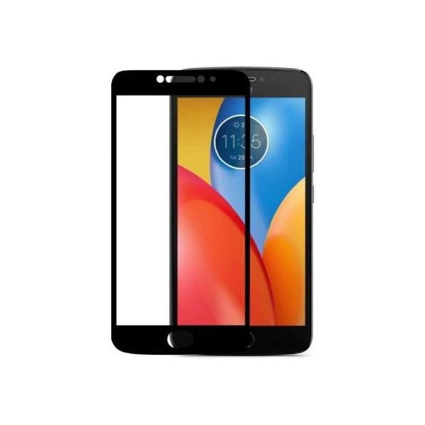 9H Hardened Edge To Edge Tempered Glass Screen Protector Screen Guard for Motorola Moto E4 Plus