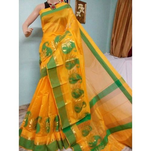 Banarsi Cotton Silk Saree 9