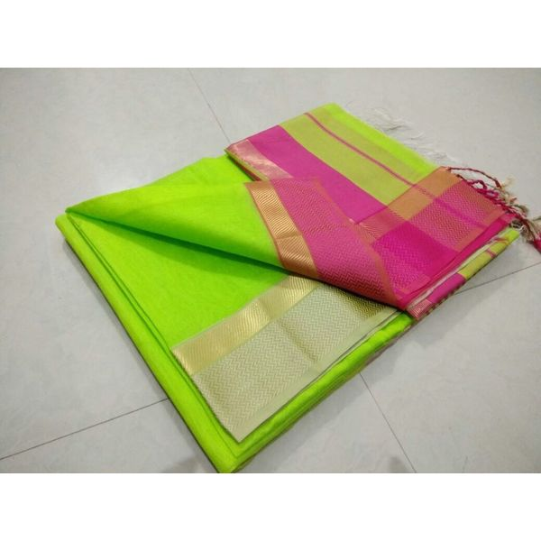 Pure Maheswari Cotton Silk Saree 26