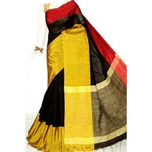 Mahapar Cotton Silk Saree 6.3 metre length with Blouse Piece 18
