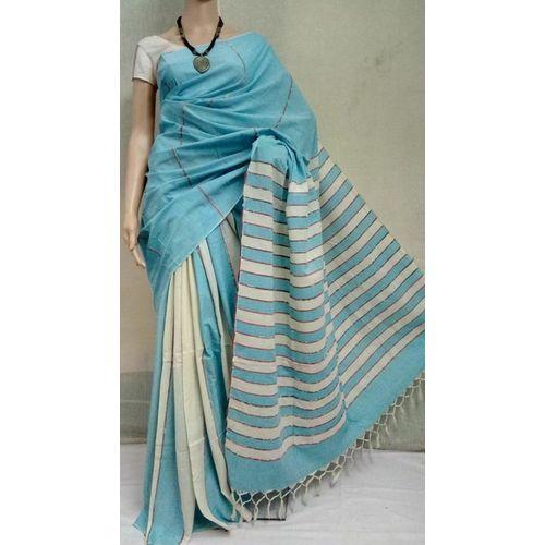 Pure Cotton Khes Saree 7