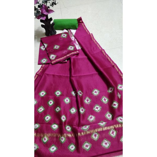 Chanderi Silk Salwar Suit-27