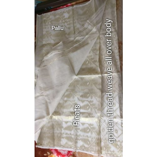 Dhakai Jamdani Cotton Saree 5
