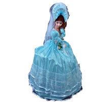 Umbrella Doll,  blue