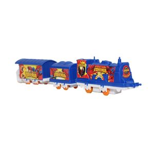 Fab5 Ben Ten Mini Train Set 022-3022-4(Blue, Pack Of 1), blue