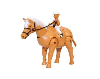Fab5 Walking Horse- Xs908 (Brown, Pack Of 1)