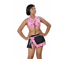 Pink 2 Piece Swim Wear for Girls