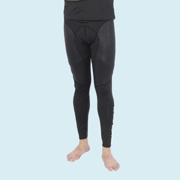Men Polyester Sports Swim Compression Pant/Legging/Full Tights