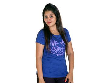 Dark Blue T-shirt for Women