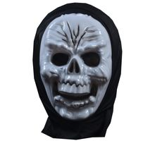 Skull Mask,  red