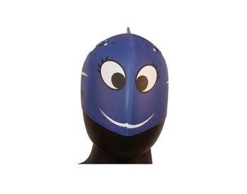 Fab5 Dolphin Fish Swim Cap (Dark Blue)