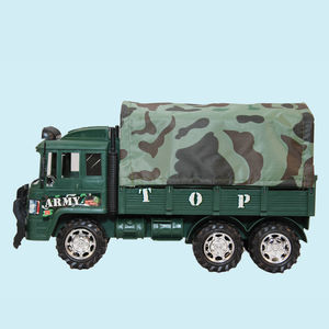 Military Truck For Kids, Push And Go Toy For Kids, Military Toy For Kids, Army Truck Toys For Kids,  lawn green, 29   10   17 cm, plastic