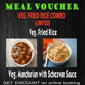 Veg. Fried Rice Combo Voucher