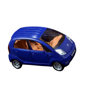 Musical Nano Car with Flashing Lights Toy for Kids (Batteries Not Included),  blue