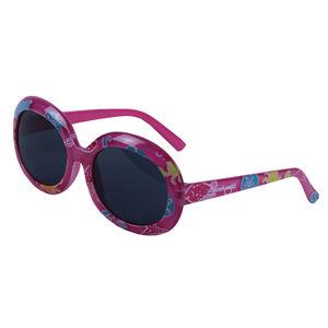 Aqua life print fancy kids sunglasses, plastic, 13.5   3   5 cm,  white