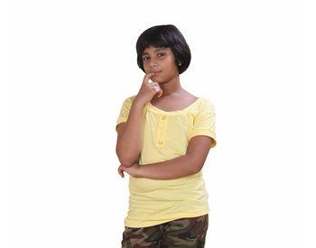 Yellow T-shirt for Women
