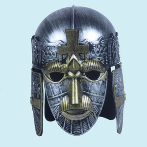 Crusades Helmet Silver Copper Finish, plastic, 20   25   18 cm,  silver